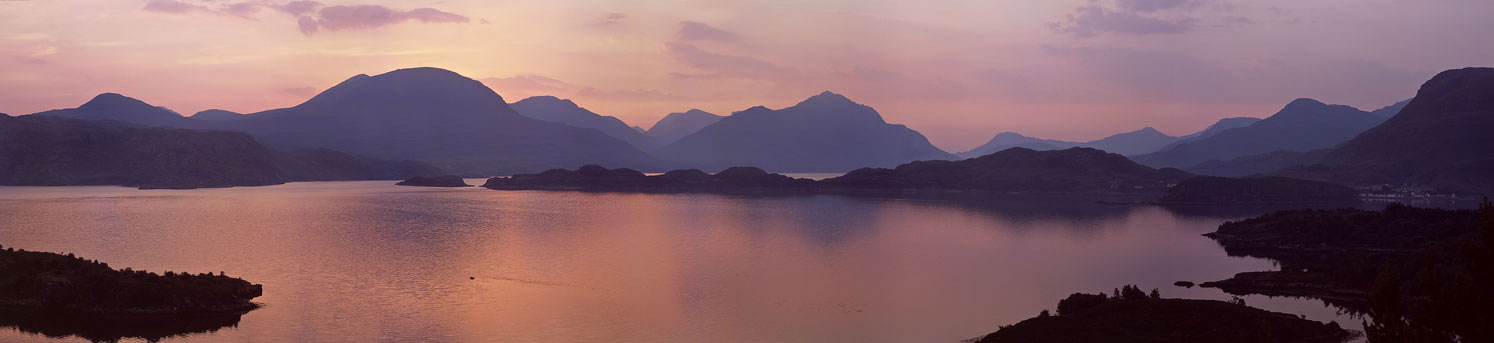 Torridon mountains, Loch Shieldaig