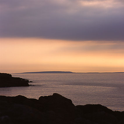Craggagh: view on Inisheer, County of Clare, Ireland